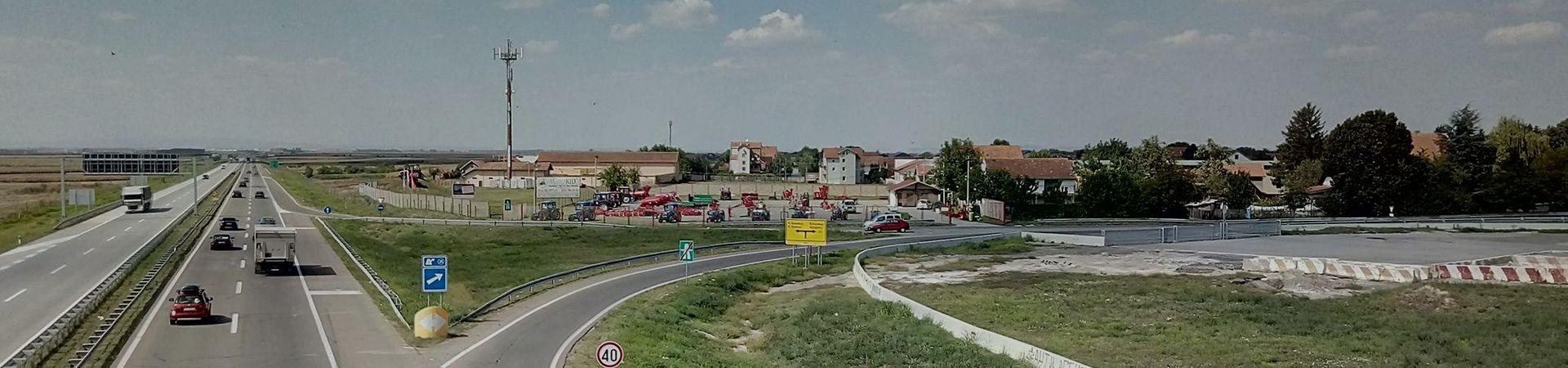 Novi Banovci (auto-put BG-NS), Beograd, Srbija